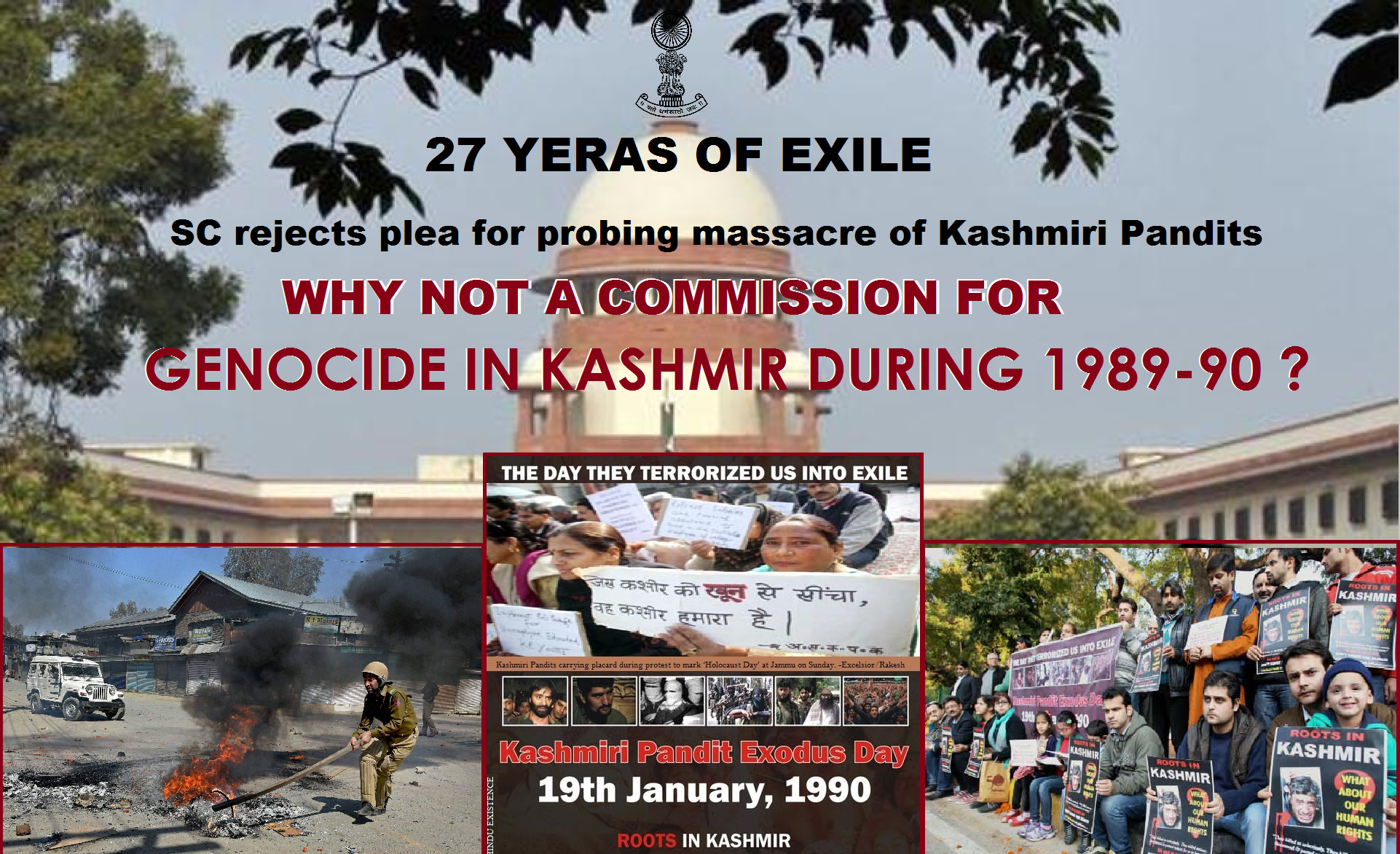 Why Not A Commission To Probe The Genocide In Kashmir