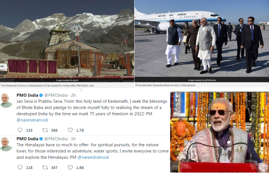 PM in Kedarnath