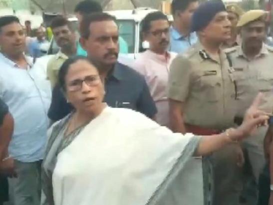 Jai Sri Ram Phobia. Mamata gets wild hearing, Jai Shri Ram' Slogan in Bhatpara.