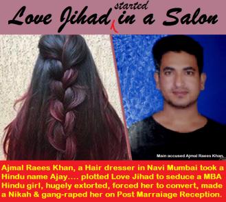 Love Jihad in a Navi Mumbai Salon