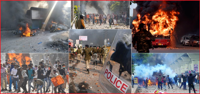 CAA an Excuse. Muslims unfurl their Jihadi Agenda in Delhi Riots ...