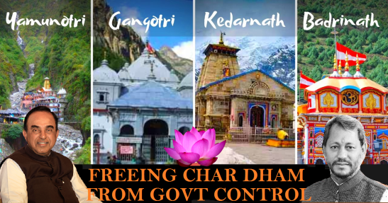 Freeing Char Dham
