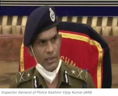 IGP JnK Vijay Kumar
