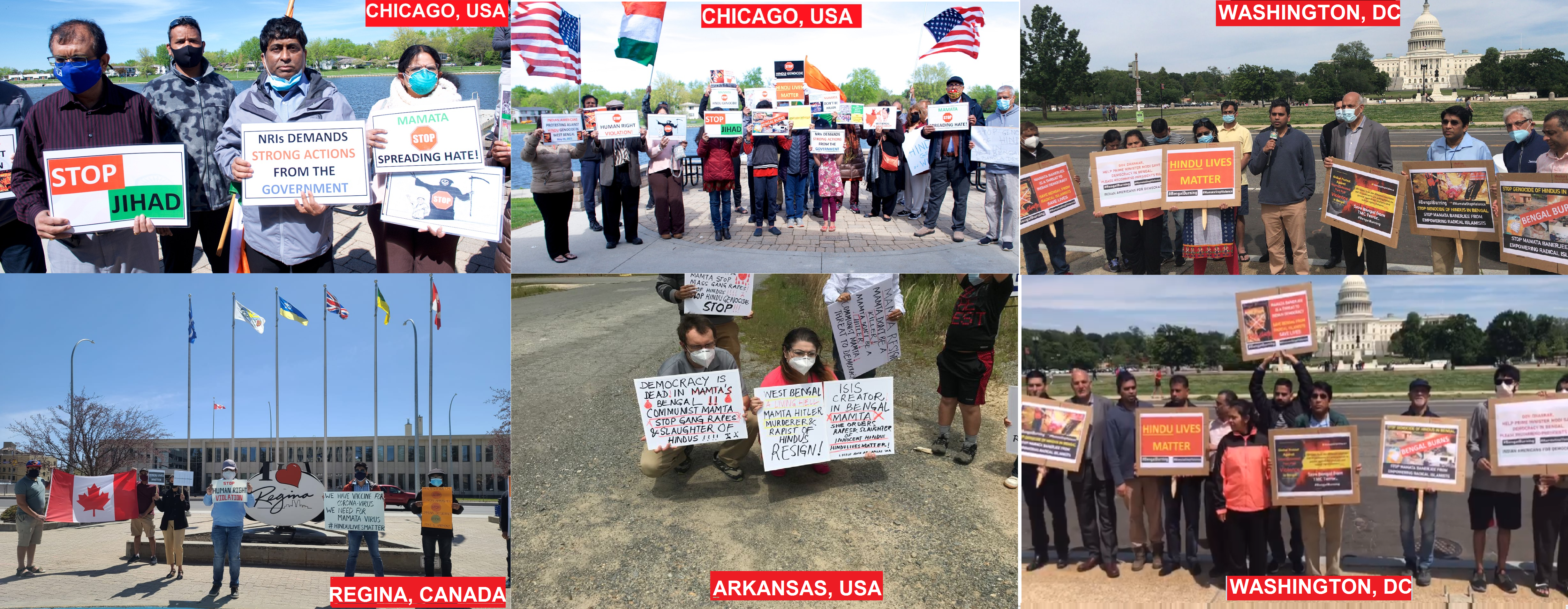 Protests all over the world