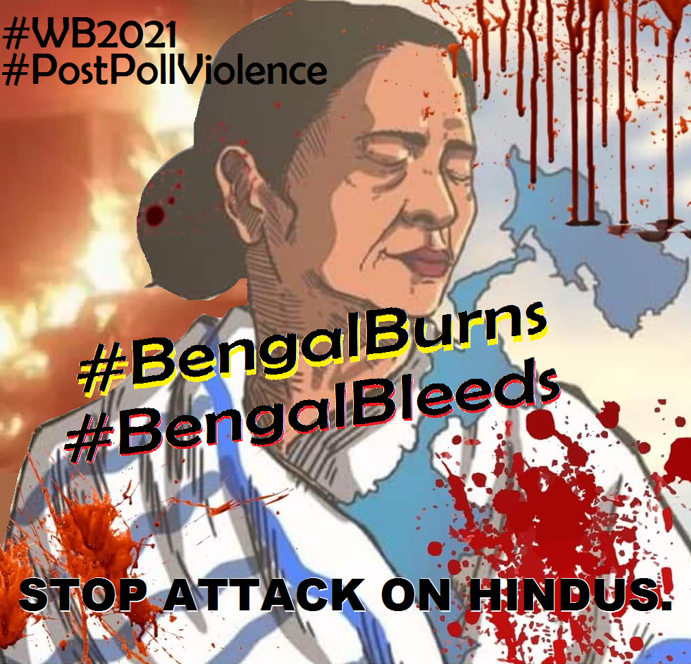 Stop Attack on WB Hindus