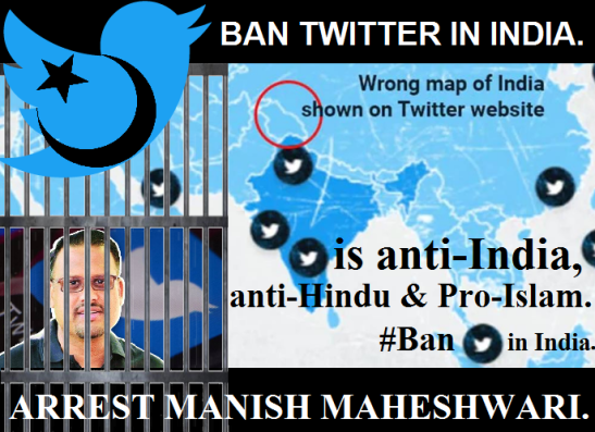 Ban Twitter in India