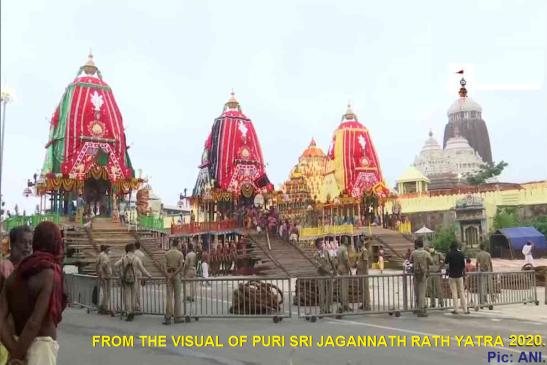 Puri Ratha Yatra 2020